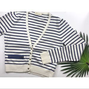 [Forever 21] Cropped Nautical Sweater